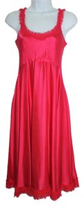 HEYNE BOGUT Silk Red Dress