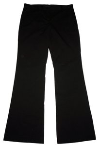 Theory Cotton Boot Cut Long Boot Cut Pants