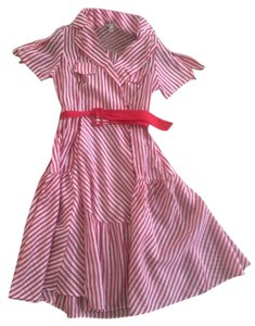 Red & white stripe Maxi Dress by Kimchi Blue