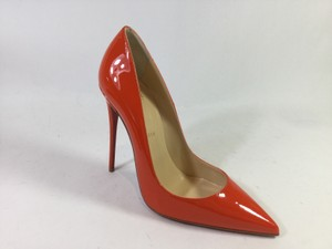 Christian Louboutin So Kate Burnt Orange Pumps