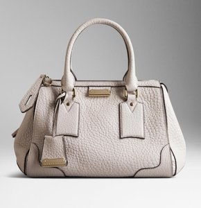 Burberry Satchel in Stone