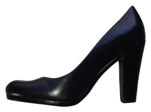 Plenty by Tracy Reese Ella Leather Black Pumps - item med img