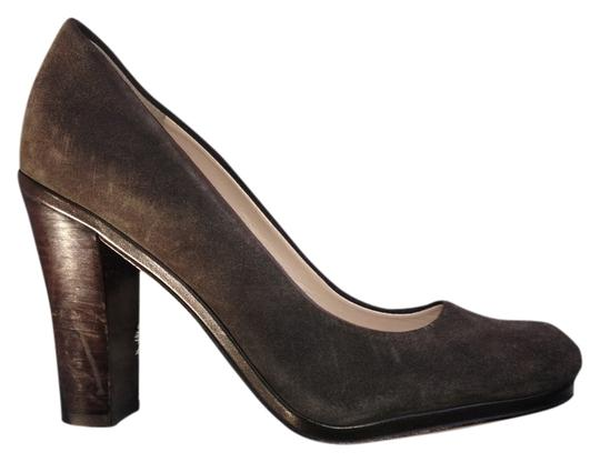Plenty by Tracy Reese Gray suede Pumps