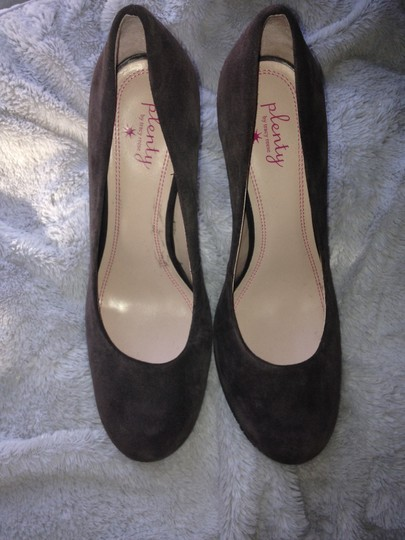 Plenty by Tracy Reese Gray suede Pumps Image 3