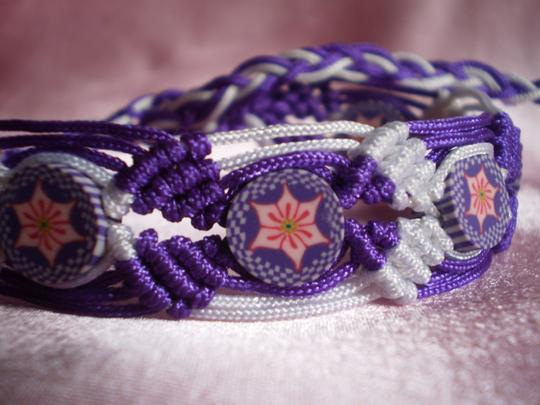 Other New Boho Macrame Bracelet Image 3