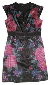 Nanette Lepore short dress multi colored on Tradesy