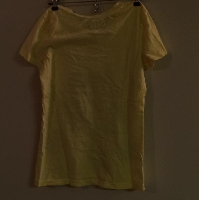 Mighty Fine T Shirt Yellow Image 1