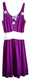 Nick & Mo short dress Purple on Tradesy