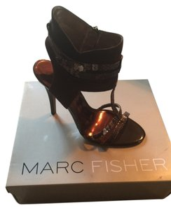 Marc Fisher Brown Sandals
