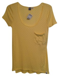 Roxy T Shirt Yellow