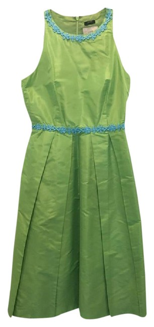 Item - Green Mid-length Cocktail Dress Size 2 (XS)
