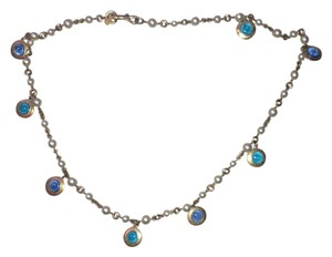Coach Coach Charm Necklace Multi Color