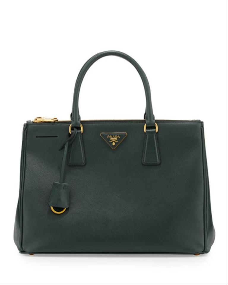 b524b6004 Prada Saffiano Double Zip Totes - Up to 70% off at Tradesy