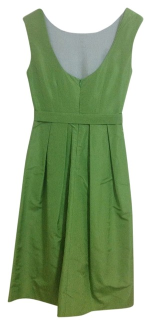 Preload https://img-static.tradesy.com/item/842699/jcrew-green-mid-length-cocktail-dress-size-2-xs-0-0-650-650.jpg