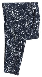 Forever 21 Star Pattern Vintage Trouser Pants Blue