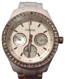 Fossil Watch White Fossil Watch