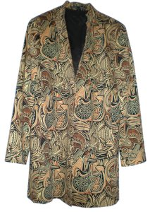 Ellen Tracy multicolor gold, brown, black Jacket