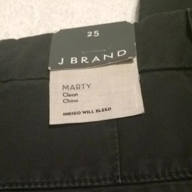 J Brand Chinos Khaki Designer Citizen Capris Black Forest