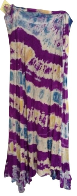Preload https://img-static.tradesy.com/item/842920/purple-blue-tie-dye-skirt-size-os-one-size-0-0-650-650.jpg