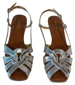 Banana Republic Sandal Silver & Gold Sandals