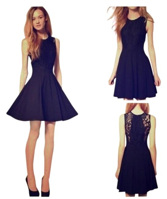 Preload https://img-static.tradesy.com/item/842961/black-lacey-night-out-dress-size-6-s-0-0-650-650.jpg