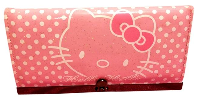 Item - Pink Clutch Organizer Wallet