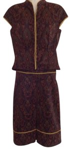 Jaloux Jaloux Zulu M Short Sleeve Skirt Suit