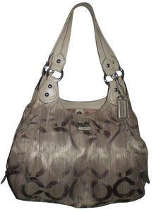 Coach Jacquard Rare Sateen Madison 15048 Hobo Bag