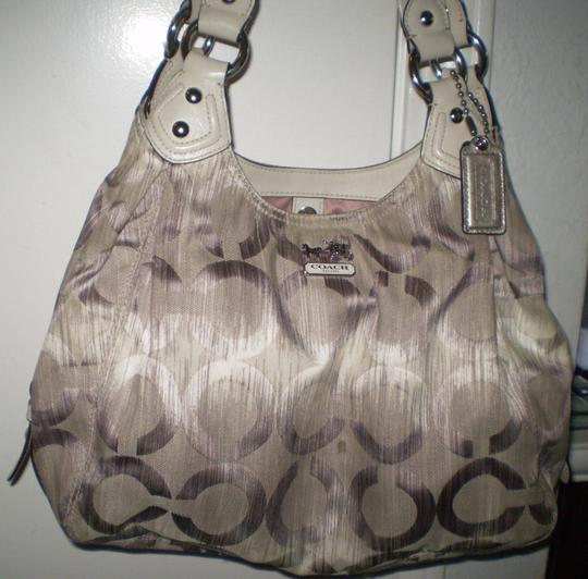 Coach Jacquard Rare Sateen Madison 15048 Hobo Bag Image 1