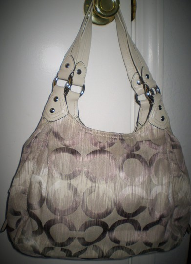 Coach Jacquard Rare Sateen Madison 15048 Hobo Bag Image 2