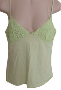 Victoria's Secret Top Pastel Lime Green