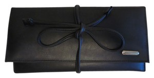 Nine West NEW WITHOUT TAGS * NINE WEST * BLACK * FAUX LEATHERJEWELRY TRAVEL CASE * BEAUTIFULLY MADE * LOTS OF STORAGE / COMPARTMENTS * MEDIUM * COMPACT * RETAIL $85.00 *