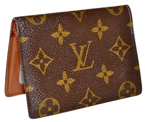 Louis Vuitton Monogram Bifold Identification Pass Case