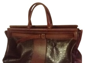 Maggio Rossetto Satchel in Chocolate Brown
