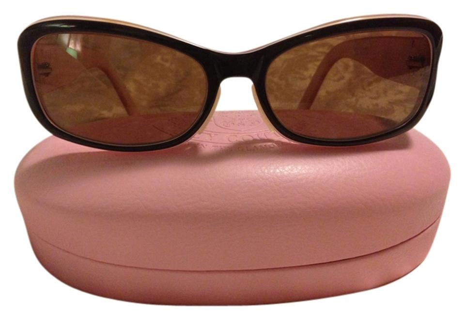 432977bd8b8d Juicy Couture Brown and Pink Christy Polarized Sunglasses - Tradesy