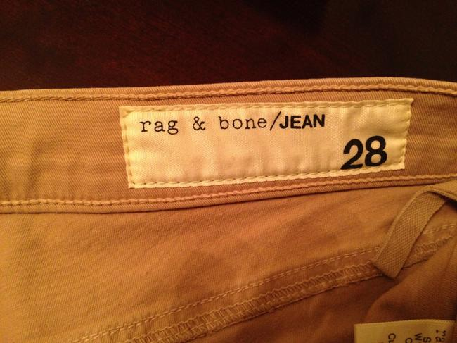 Rag & Bone Mini/Short Shorts Beige Image 3