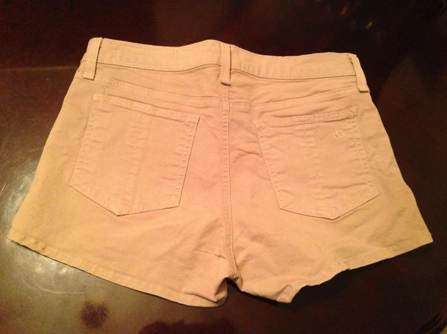 Rag & Bone Mini/Short Shorts Beige Image 4