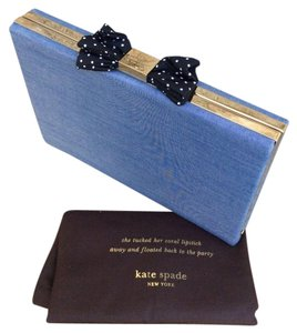 Kate Spade Kate By Denim Blue Clutch