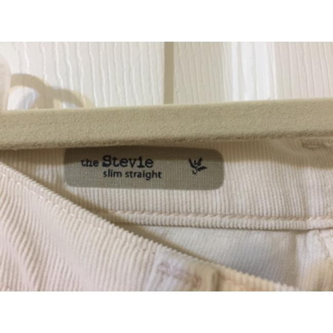 AG Adriano Goldschmied Skinny Pants Cream Chords Image 2