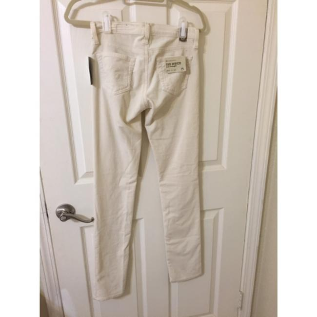 AG Adriano Goldschmied Skinny Pants Cream Chords Image 5