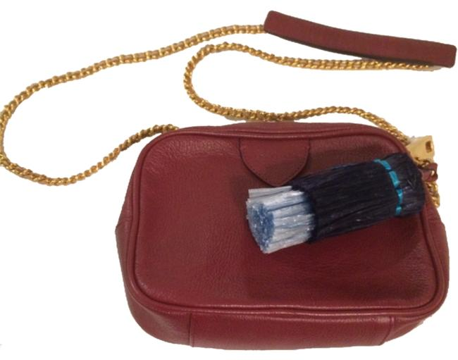 Marc Jacobs Red Leather Cross Body Bag Marc Jacobs Red Leather Cross Body Bag Image 1