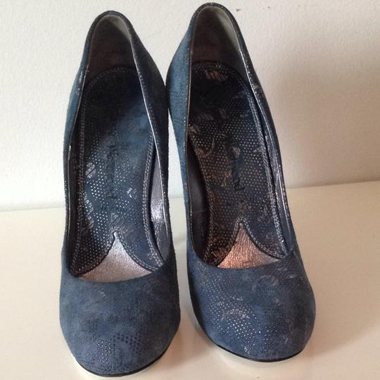 Vivienne Westwood Blue With Silver Detail Pumps