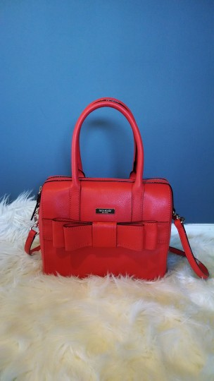 Kate Spade Satchel in Your judgment --mix between red-orange to burnt orange. Your discretion!!! Image 1