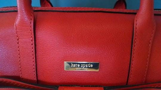 Kate Spade Satchel in Your judgment --mix between red-orange to burnt orange. Your discretion!!! Image 2