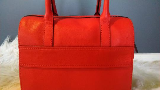 Kate Spade Satchel in Your judgment --mix between red-orange to burnt orange. Your discretion!!! Image 3