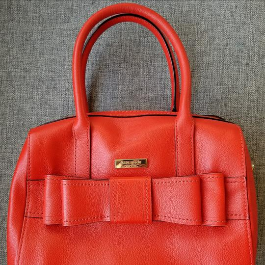 Kate Spade Satchel in Your judgment --mix between red-orange to burnt orange. Your discretion!!! Image 6