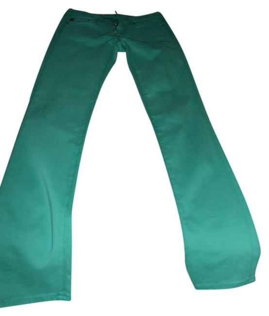 Item - Green Medium Wash Skinny Jeans Size 25 (2, XS)