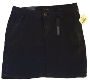 J Brand Mini Skirt Blac