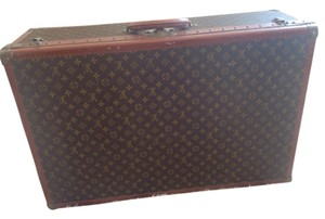 Louis Vuitton Lv Monogram Brown Travel Bag