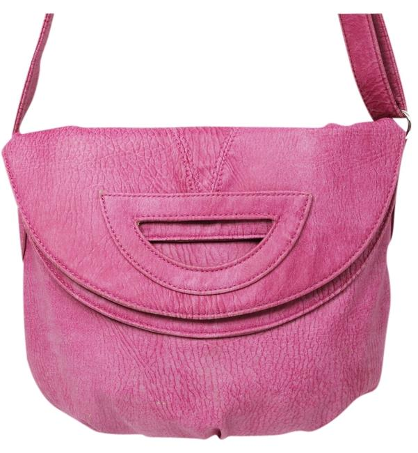 Item - Rose Faux Leather Cross Body Bag